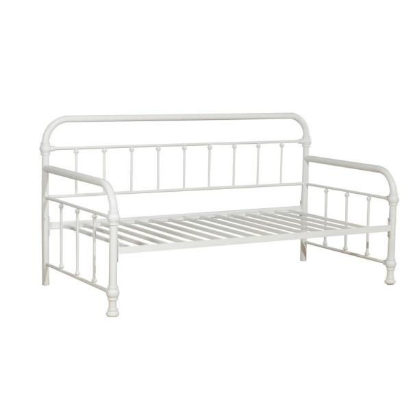 Hillsdale Furniture Kirkland Soft White Daybed 1799db The Home Depot
