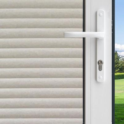 36 in. W x 78 in. H Privacy Control Faux Shades Window Film