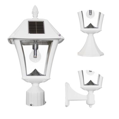 Solar Post Lighting Outdoor Lighting The Home Depot