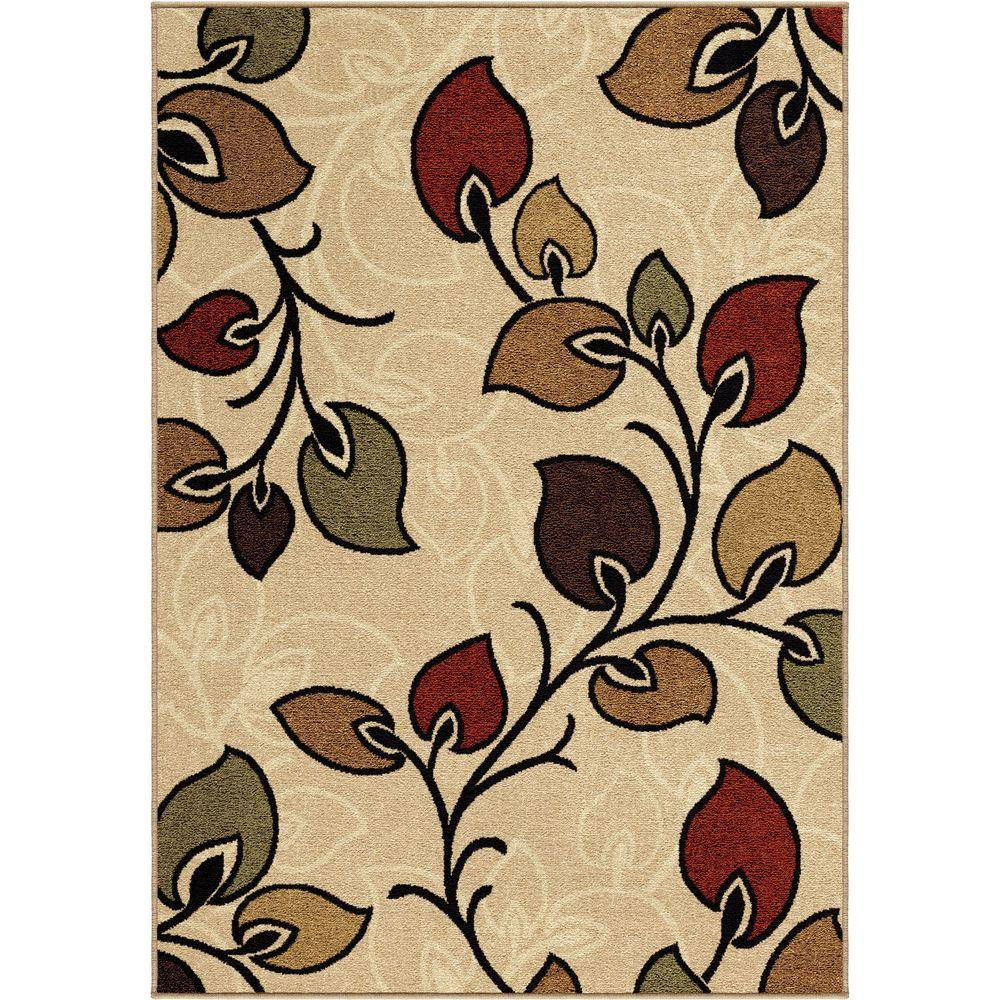 Orian Rugs Phipps Bisque 5 ft. 2 in. x 7 ft. 6 in. Indoor Area Rug