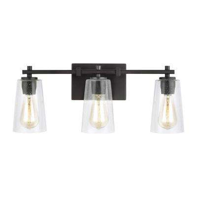 Mercer 3-Light Oil Rubbed Bronze Bath Light