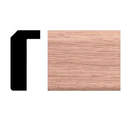 3/4 in. x 1-1/2 in. x 4 ft. Oak Counter Trim Moulding