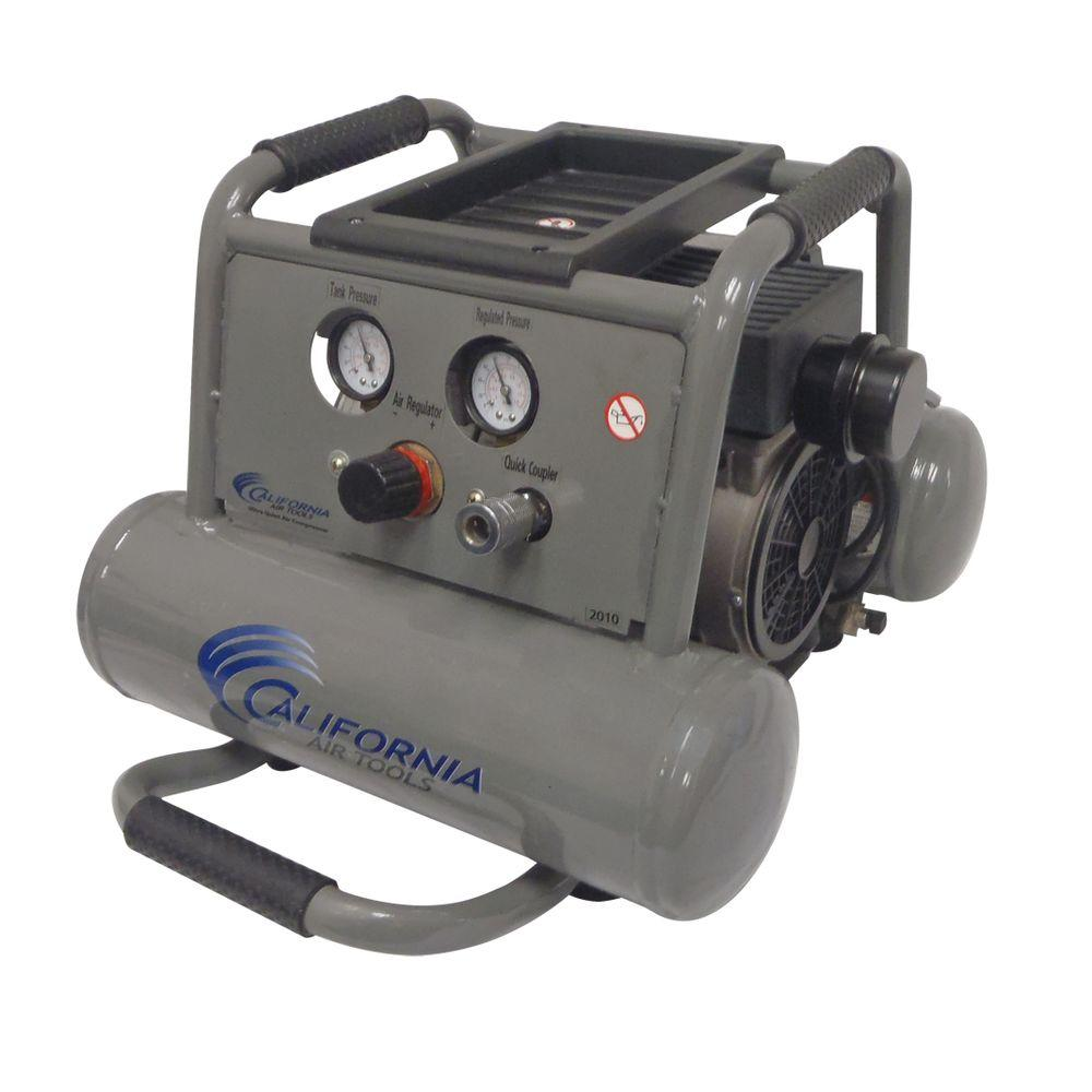 California Air Tools 2-Gal. 1 HP Ultra Quiet and Oil-Free Air Compressor-DISCONTINUED