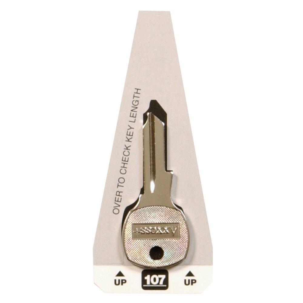 #107 Blanks Key