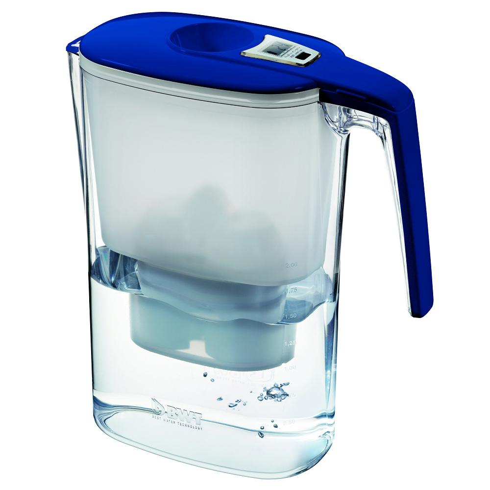 Slim Counter Top Filtration System in Blue-815293 - The Home Depot