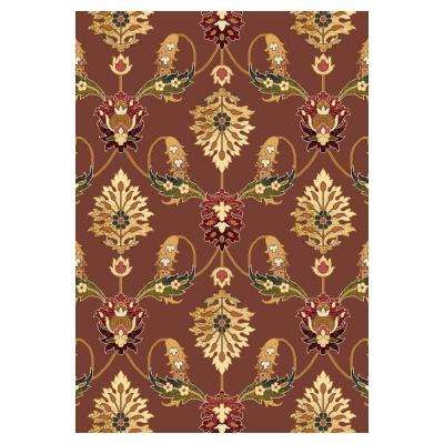 Venetian Plum 3 ft. 3 in. x 4 ft. 11 in. Area Rug