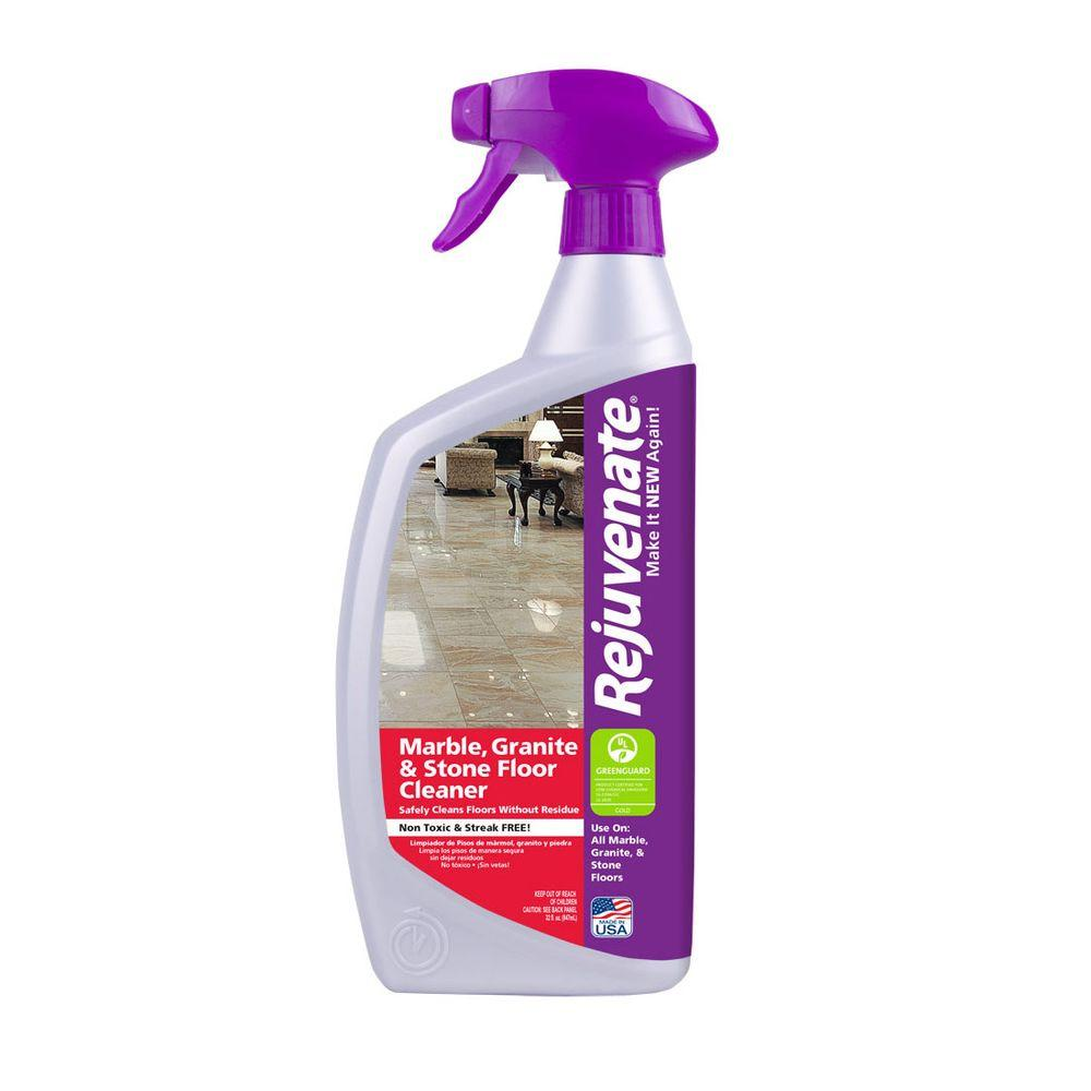 Rejuvenate 32 Oz Marble Granite And Stone Floor Cleaner Rj32mfc
