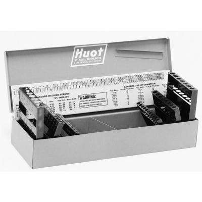 4-5/8 in. x 13-1/2 in. Fractional and Wire Gauge Drill Bit Tool Case