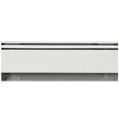 Fine/Line 30 4 ft. Hydronic Baseboard Heating Enclosure Only in Nu-White