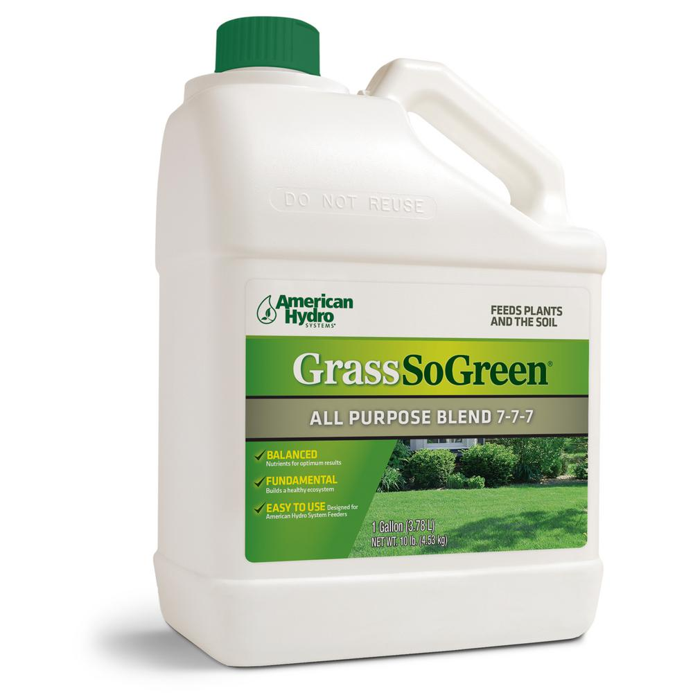 128 oz. 2000 sq. ft. Grass-so-Green All-Purpose Liquid Fertilizer Blend