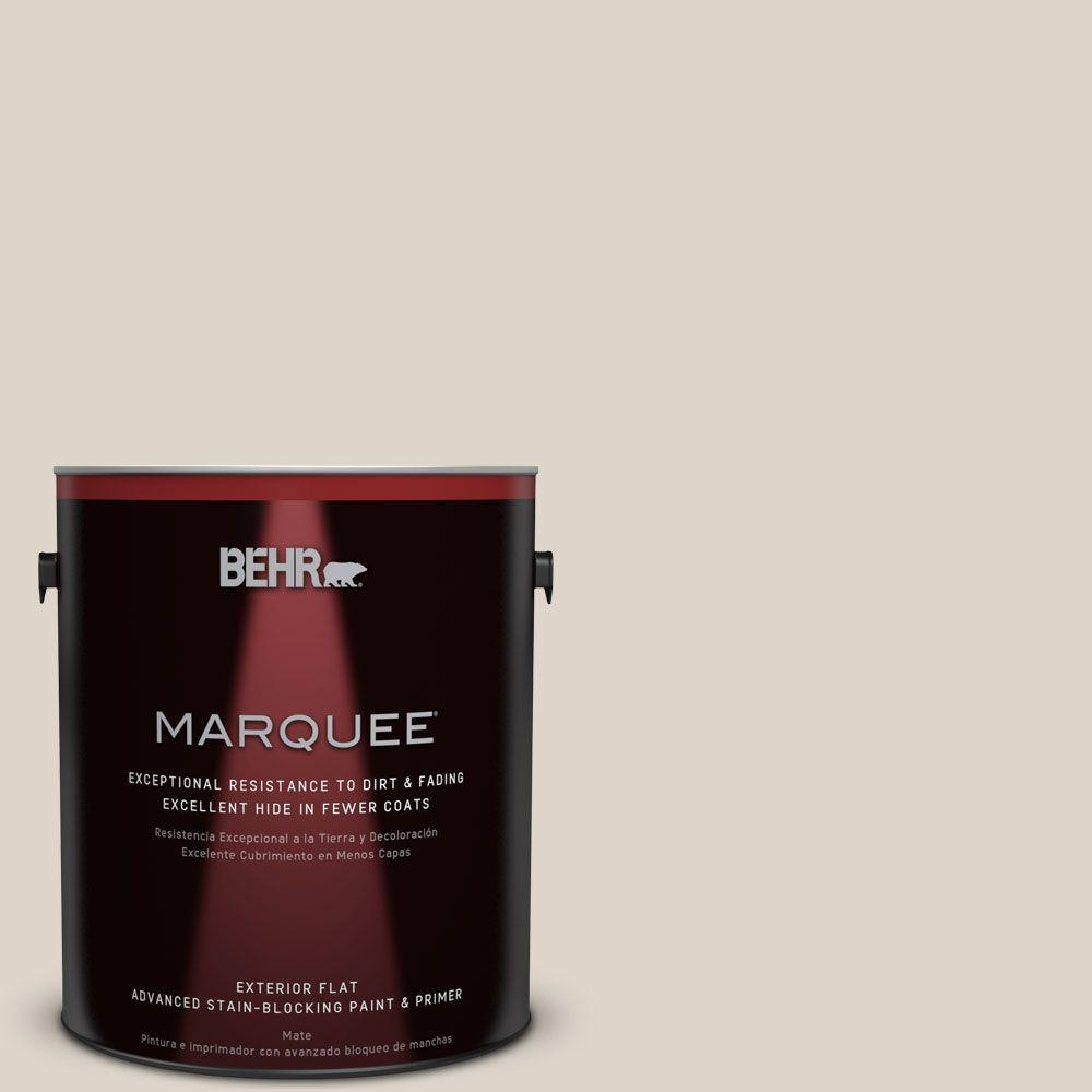 Home Decorators Collection 1 gal. #HDC-CT-19 Windrush Flat Exterior Paint