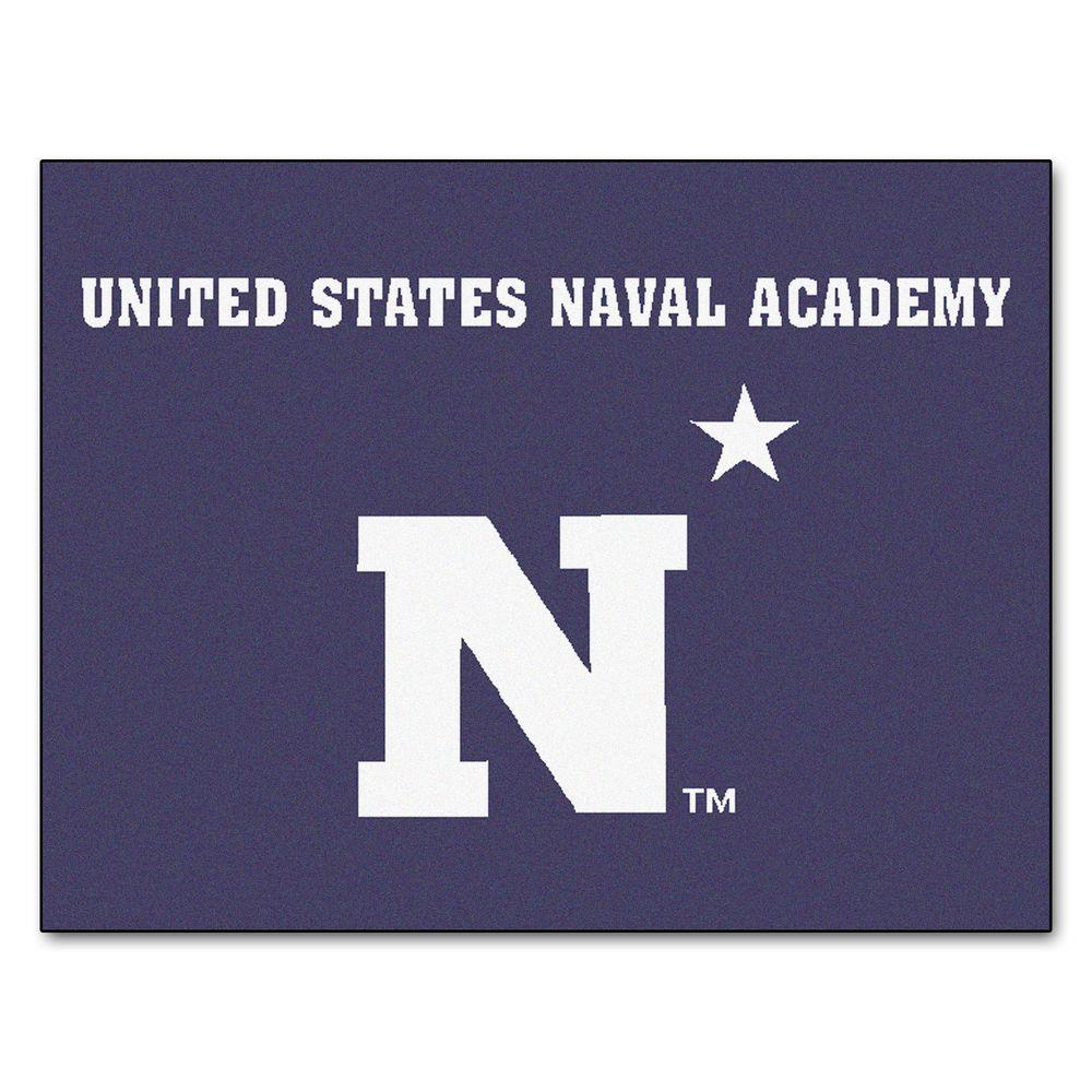 FANMATS U.S. Naval Academy 2 ft. 10 in. x 3 ft. 9 in. All ...