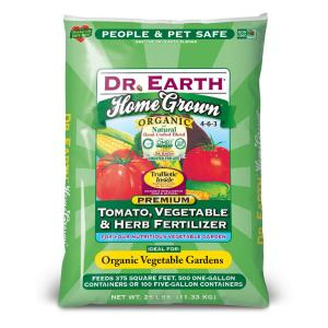 DR. EARTH 25 lb. Home Grown Tomato, Vegetable, Herb Fertilizer by DR. EARTH