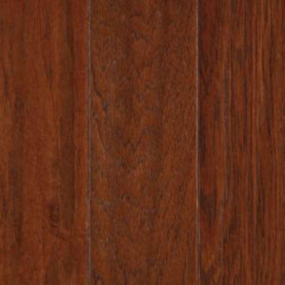 Mohawk Take Home Sample - Autumn Hickory Engineered UNICLIC Hardwood Flooring - 5 in. x 7 in.