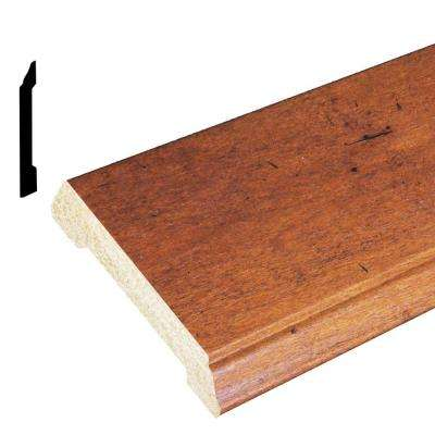 1/2 in. x 4-3/16 in. x 96 in. Polystyrene Whiskey Maple Base Moulding (Pack of 5)