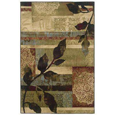 Camille Leighton Multi 3 ft. x 5 ft. Area Rug