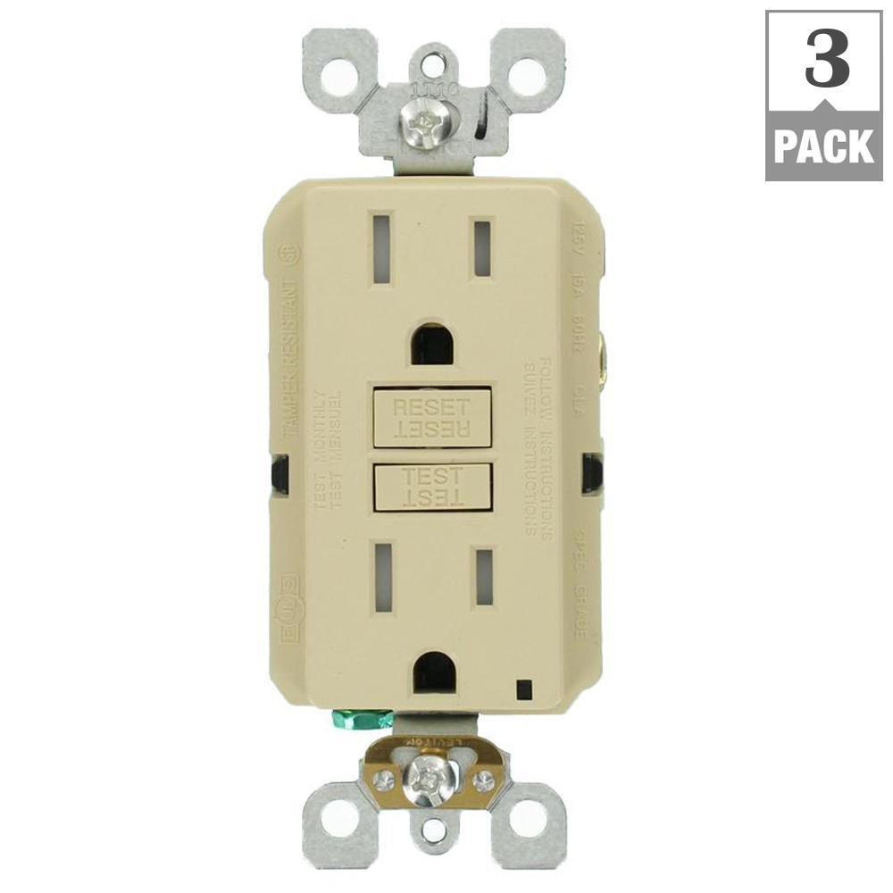 leviton 15 amp 125 volt duplex smartest self test smartlockpro