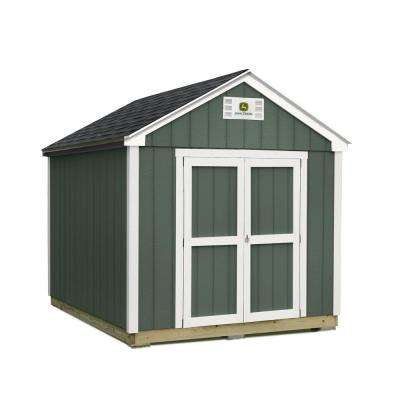 8 ft. x 12 ft. Installed John Deere Shed