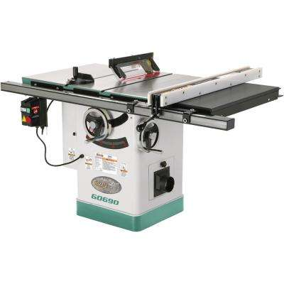 10 in. 3 HP 220-Volt Cabinet Table Saw with Ri-Volting Knife