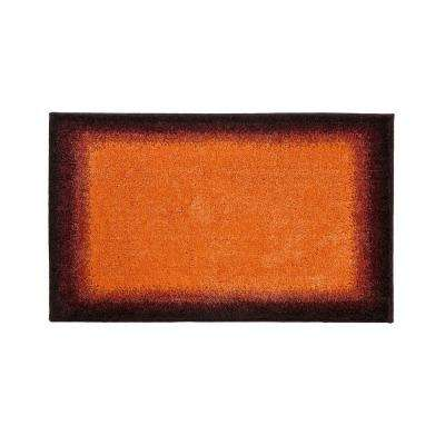 Designer Avalon Orange 21 in. x 34 in. Rug