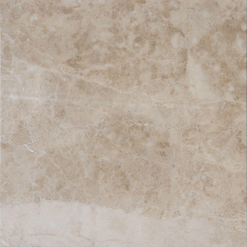 Ms international crema cappuccino 12 in x 12 in polished marble ms international crema cappuccino 12 in x 12 in polished marble floor and wall doublecrazyfo Image collections