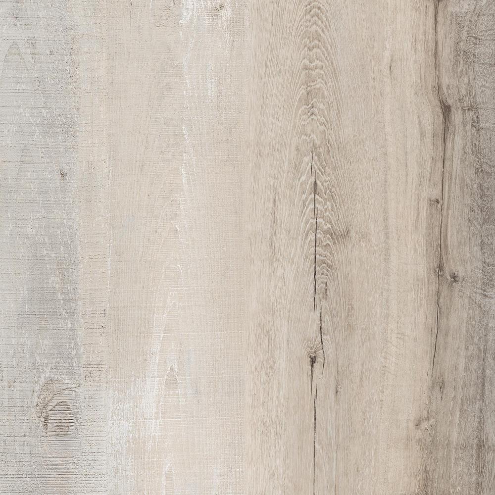 LifeProof Take Home Sample - Raven Forest Oak Luxury Vinyl Flooring - 4 in. x 4 in.