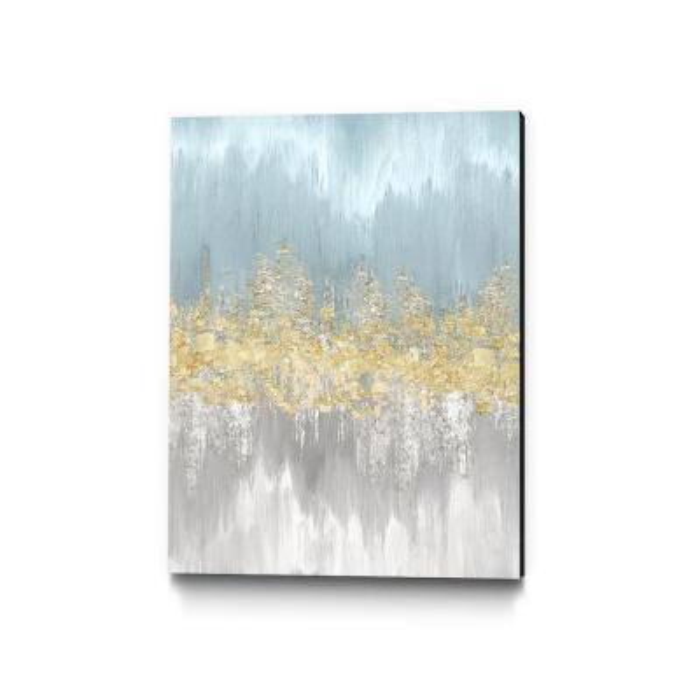 """30 in. x 40 in. """"Neutral Wave Lengths III"""" by Eva Watts Wall Art"""