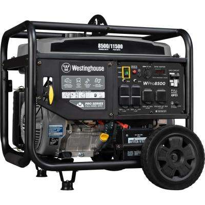 Pro 11,500/8500-Watt Super Duty Gas Powered Industrial Portable Generator with Remote Start and Full Panel GFCI