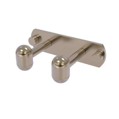 Tango Collection 2 Position Robe Hook in Antique Pewter