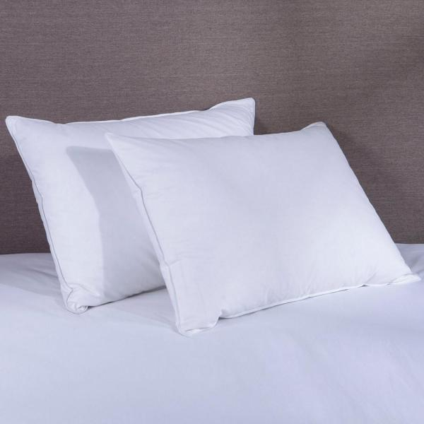 5481f102c2804 Pure Down Down Blend Pillow in King (Set of 2) PD-16035-K - The Home ...