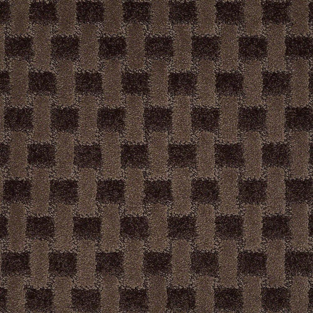 Carpet Sample - King's Cross - In Color Camp Ground 8 in. x 8 in.