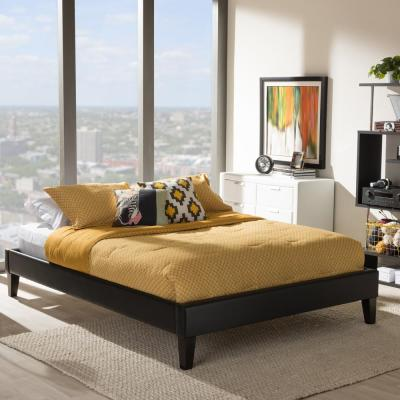 Lancashire Queen Faux Leather Upholstered Bed