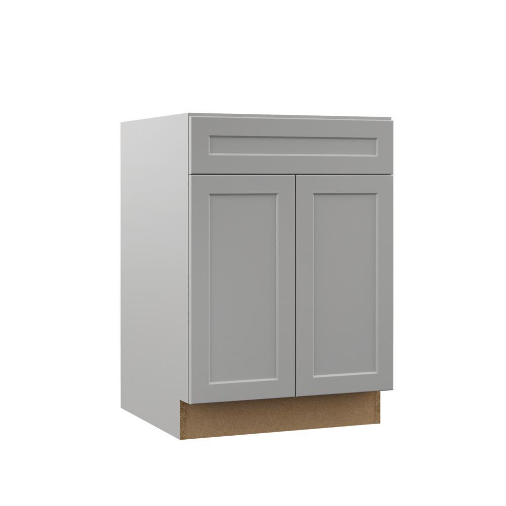 Hampton Bay Kitchen Cabinets Design: Hampton Bay Designer Series Melvern Assembled 24x34.5x23