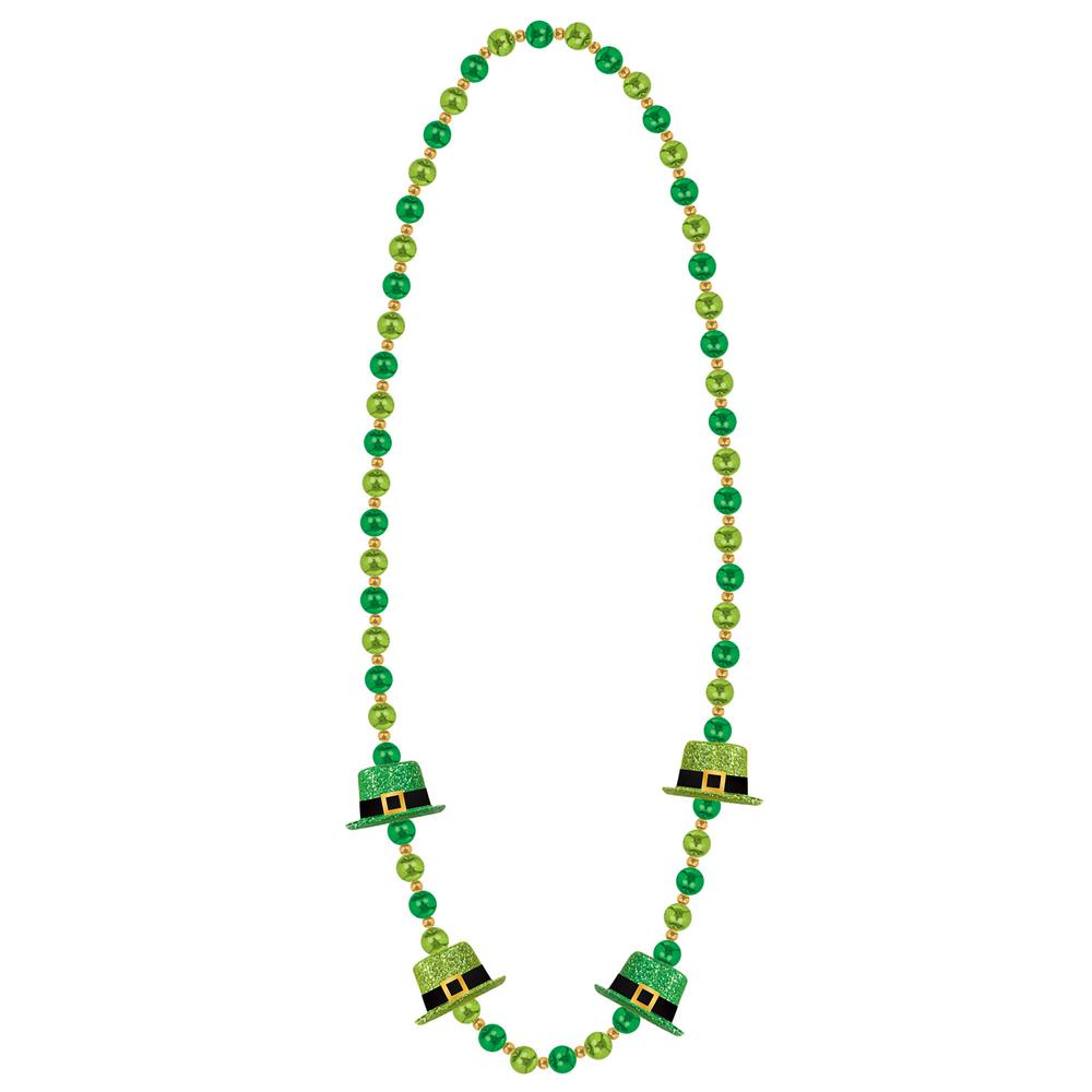 a4cd20fa5ba Amscan Leprechaun Hat St. Patrick's Day Bead Necklaces (2-Pack)