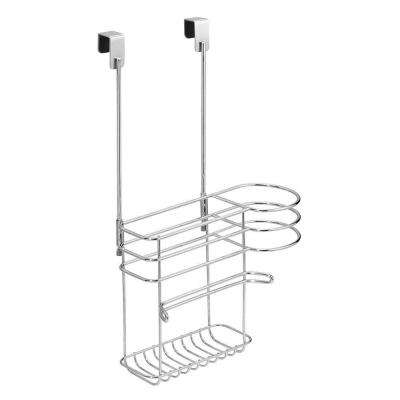 Classico Over Cabinet Hair Care Organizer in Chrome