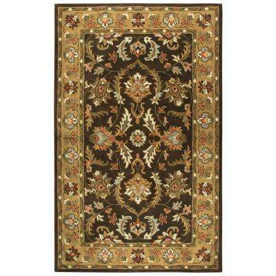 Stafford Brown Multicolor 10 ft. x 13 ft. Rectangle Area Rug