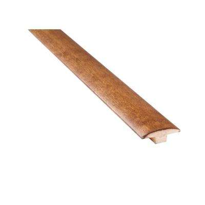 Mistral Gunstock Birch 3/4 in. Thick x 2 in. Wide x 78 in. Length Solid Hardwood Transition T-Molding