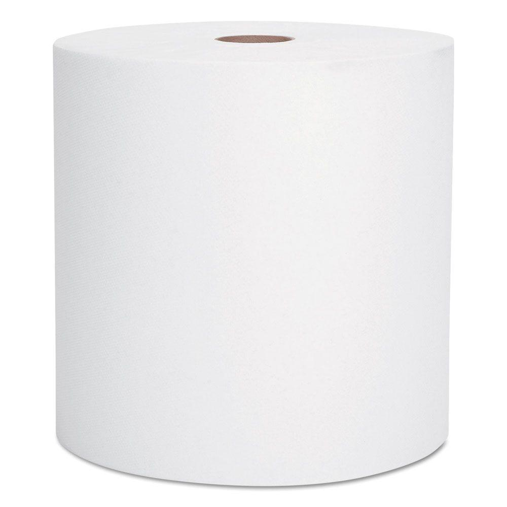 Scott White High-Capacity Hard Roll Paper Towels (Case of 6)