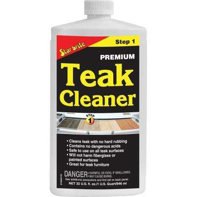 32 fl. oz. Teak Cleaner