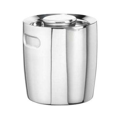 1.5 Qt. No Handle Insulated Ice Bucket in Polished Stainless Steel