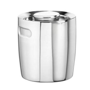 Click here to buy Kraftware 1.5 Qt. No Handle Insulated Ice Bucket in Polished Stainless Steel by Kraftware.