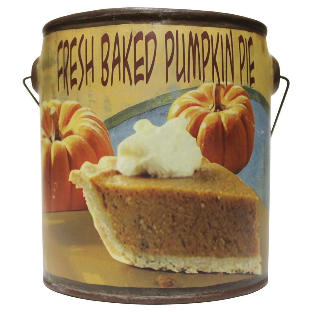 Farm Fresh Ceramic Candle Papa's Pumpkin Pie