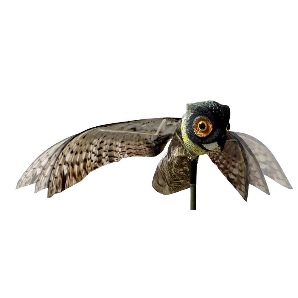 Bird-X Inc BIRDXOWL Prowler Owl Bird Deterrent with Wings