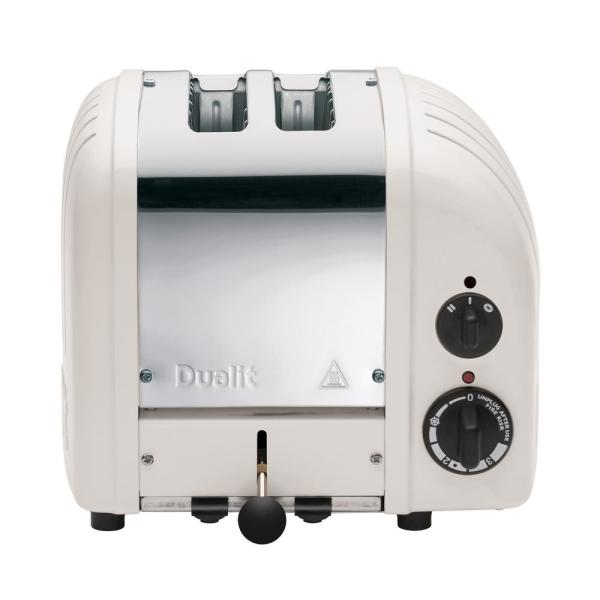 Dualit New Gen 2-Slice Feather Wide Slot Toaster with Crumb Tray