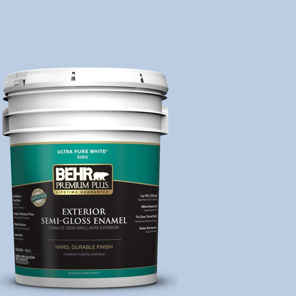 5-gal. #M530-2 Sky's the Limit Semi-Gloss Enamel Exterior Paint