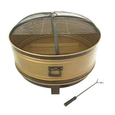 Colossal 36 in. Steel Fire Pit