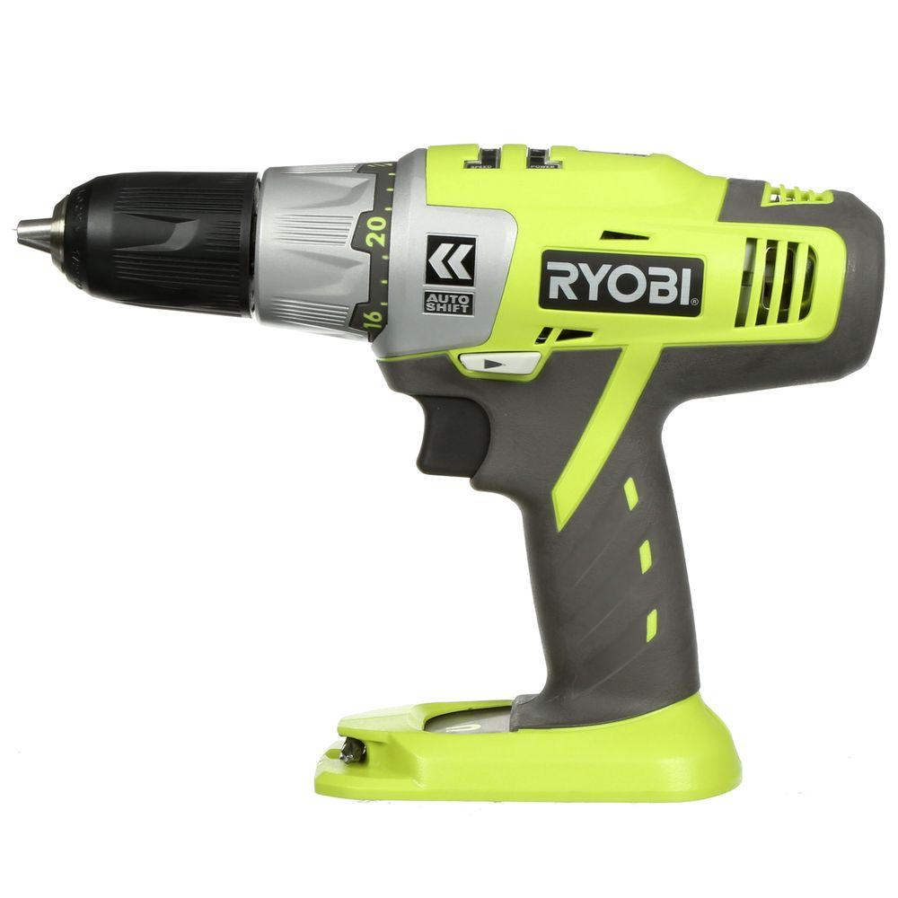 Ryobi 18-Volt One Plus 1/2 in. Cordless Autoshift Drill (Tool Only)