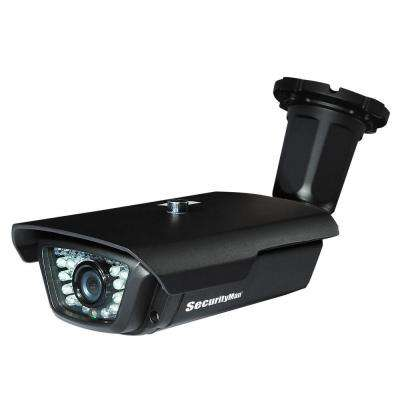 Wired Indoor or Outdoor Sony CCD Standard Surveillance Camera with 100 ft. Cable Night Vision