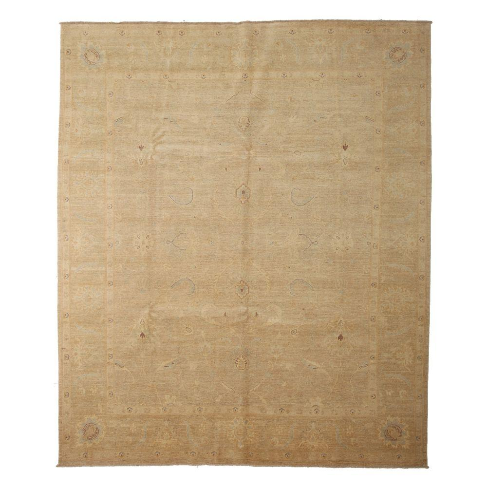Darya Rugs Oushak Beige 8 ft. 5 in. x 9 ft. 10 in. Indoor Area Rug