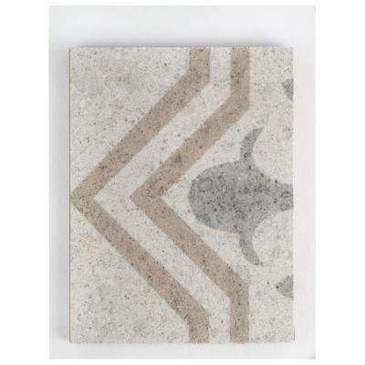 Llanes Jet Ceramic Floor and Wall Tile - 3 in. x 4 in. Tile Sample